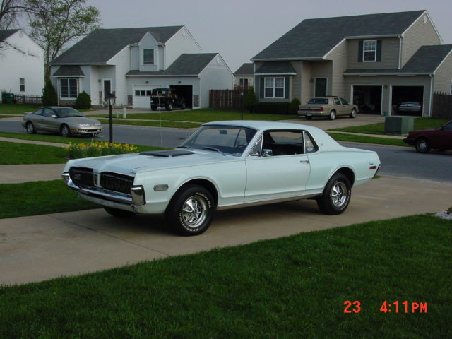 1968 Mercury COUGAR XR-7 with 54000 miles